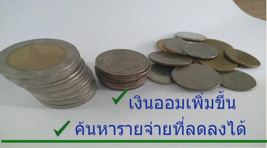 ภาพ เงินออม